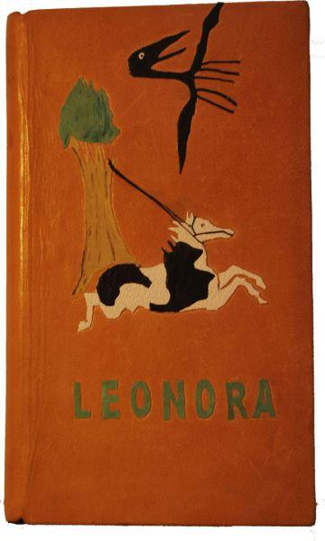 Mosaico referente a un cuadro de la protagonista del libro. Guardas en papel indio con motivos decorados